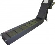 Convoyeur à tapis métallique pied support réglable - Tailles de tapis : pas 40, pas 65, pas 125