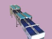 Convoyeur à tapis modulaire droit - Ajouré ou plein - Peinture polyuréthane