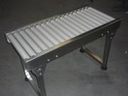 Convoyeur acier inox à rouleaux - Table à rouleaux - Rouleaux libres ou gravitaires