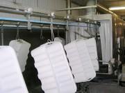 Convoyeur aérien à câble agroalimentaire - Capacité de charge : 30 kg