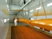 Convoyeur aérien motorisé pour cabine peinture - Système accroche pièces pour peinture - Charge maximale :1 tonne