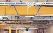 Convoyeur aérien stockage statique - Sur tringle pour les cintre