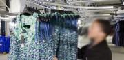 Convoyeur blanchisserie sans trolley - Système élaboré sur mesure qui offre une grande précision des processus