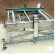 Convoyeur de changement de niveau - Elévation pneumatique, hydraulique ou électrique
