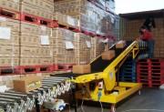 Convoyeur élévateur déplaçable - Charge admise de 40 à 50kg/mètre
