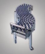 Convoyeur extensible - En acier galvanisé ou en acier inoxydable.