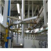 Convoyeur gravitaire 70 Kg - Circuits gravitaires de sacs pour blanchisserie