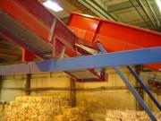 Convoyeur incliné pour vrac tri recyclage - Pour vrac tri recyclage