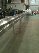 Convoyeur Inox sur mesure - Bande transporteuse vulcanisée sans fin ou agrafée