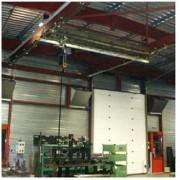 Convoyeur motorisé à chaîne - Convoyeur à chaîne pour couverture de surface-capacité 500 kg