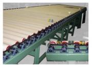 Convoyeur motorisé par courroies de rouleau - Vitesse standard : 0,3 m/sec