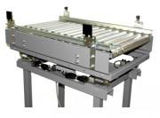 Convoyeur peseur à rouleaux motorisé - Pesage : De 0 à 40 kg ± 10 à 20 g
