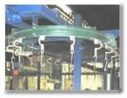 Convoyeur simple voie aérien - L'automatisation des postes de chargement