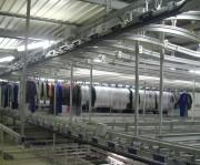 Convoyeur Tri et Stockage VT sur Cintre - Convoyeurs Sling / Sac pour blanchisserie-convoyeur à corde