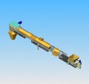Convoyeurs industriels - Capacités varient entre 5 et 650 m3/h