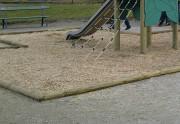 Copeaux de bois aire de jeux - Copeau de bois Mulch 5/30 aire de jeux sol de sécurité couleur au choix