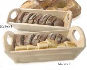 Corbeille à pain pour boulangerie - En bois