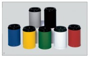 Corbeille à papier 80L - Anti-Feu testées et agréés par le CNPP.