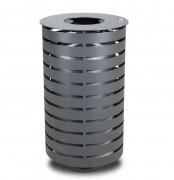 Corbeille acier galvanisé - Capacité: 60 litres