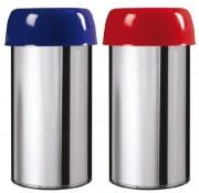Corbeille anti feu inox 50 Litres - Contenance : 50 litres - En acier poudré anti-UV