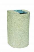 Corbeille béton 110 L - Capacité 110 L – Dimensions ( LxHxP) : 113 x 65 x 58 cm