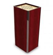 Corbeille cendrier en acier - Encombrement (mm) : 340 x 290