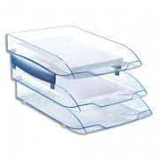 Corbeille courrier confort ice blue 147-2i - CEP
