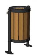 Corbeille cylindrique compact - Capacité : 80 L
