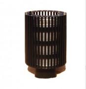 Corbeille de ville ronde 30 litres - Capacité (L) : 30 - 65
