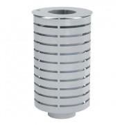 Corbeille en acier galvanisé - Capacité (L) : 65
