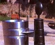 Corbeille en acier inoxydable - Type Viesca