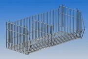 Corbeille en fil - Dimensions : P 500 x H 300.