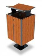 Corbeille fonctionnelle stratifié - Encombrement (mm) : 440 x 390