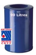 Corbeilles a papier antifeu - 52140-52160