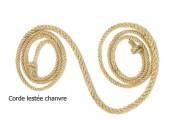 Corde de gymnastique rythmique - 2 longueurs disponibles (m) : 2.50 - 3
