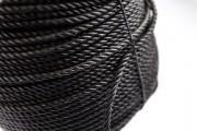 Corde noire en polypropylène - 10mm 220M