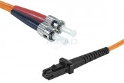 Cordon duplex 2 m - Cordon fibre optique MTRJ/ST 62,5/125 - 2.00 m
