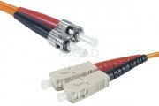 Cordon fibre optique 10 m - Cordon fibre optique ST/SC