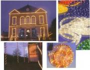 Cordon lumineux pour vitrines