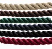 Cordon pour poteau de file d'attente - 6 coloris - Embouts ronds ou avec attache