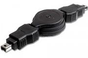 Cordon retractable firewire 4/4m - Cordon retractable firewire 4/4m
