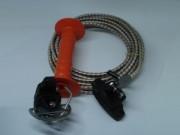 Cordons électriques et élastiques - Ouverture extensible - Avec fils conducteurs en inox