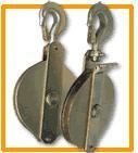 Cosses galvanisées pour câble métallique - Diamètre câble : de 4 à 30 mm