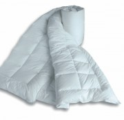 Couette percale blanche - Garnissage : 500 gr/m²