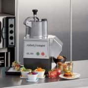 Coupe légumes professionnel cuisine - Raccordement réseau : 230 V - Dimensions (LxPxH) : 460 x 250 x 490 mm