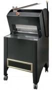 Coupeuse de pain semi-automatique noire - Avec levier - Puissance : 550 W