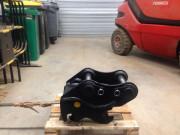 Coupleur mécanique pour mini pelle - Coupleurs mécaniques à moteur d'inclinaison ou rotation
