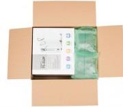 Coussin de calage écologique - Coussin avec film biodégradable et recyclable