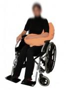 Coussin de calage réniforme - Adaptés pour tous les fauteuils roulants et lits