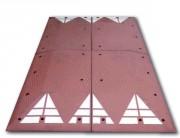 Coussin ralentisseur berlinois - 1800 x 3000 x 65 mm